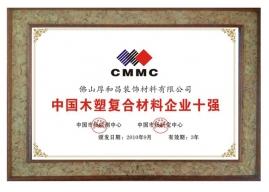 中国木塑复合材料企业十强