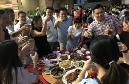 卡路丝全体员工国庆聚餐