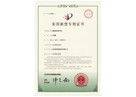 Utility model patent certificate6